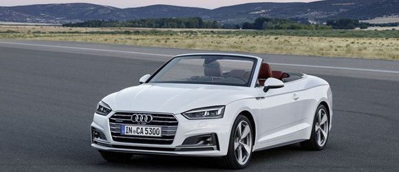 Audi A5 Convertible rental miami