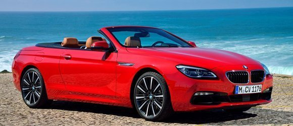 BMW 650 Convertible rental miami