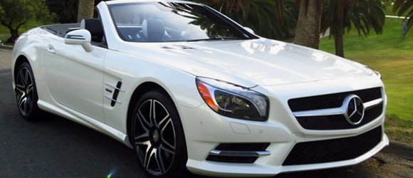 Mercedes Benz SL550 rental miami