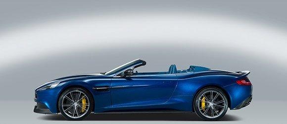 Aston Martin Vanquish Volante rental miami