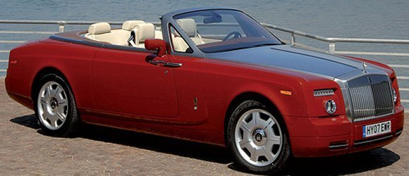 Rolls Royce Phantom Drophead rental miami