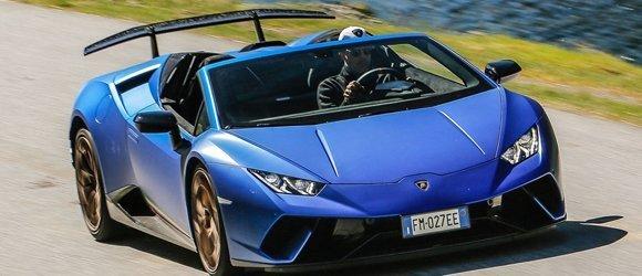 Lamborghini Huracan Spider rental miami