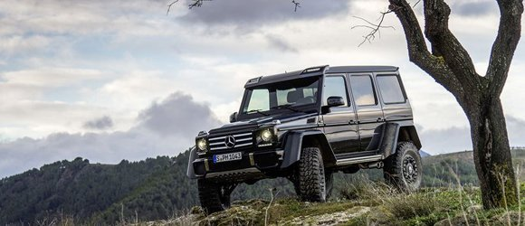 Mercedes Benz G550 4x4 Squared rental miami